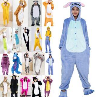 Pigiama kigurumi intero tuta carnevale feste donna animali tigre costume party