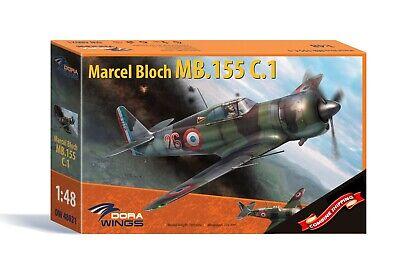 DORA WINGS Maquette Avion Marcel Bloch MB.152 Late