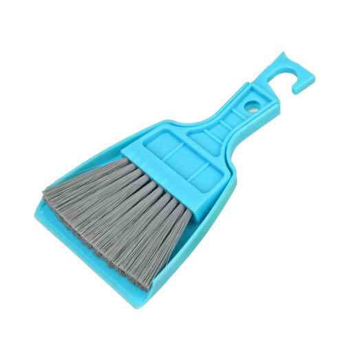 Mini Desktop Broom and Dustpan Set Household Dust Pan and Brush Cleaning Too