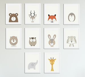 Image Is Loading Kaboo Animal Prints For Nursery Set Baby