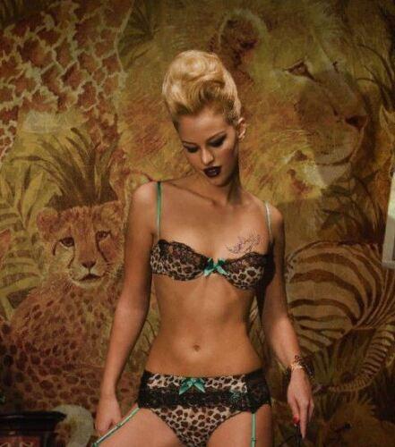 SISTA SHEI Felina Leopard Push Up Soutien-gorge-Divers Tailles
