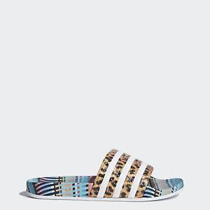 e04a3b530c185 adidas X The Farm Adilette Womens Cm8223 Leopard Multicolor Slide Sandals  Size 6 for sale online