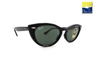 faaece2e8a Ray Ban 4314N 60131 Nina Cat Eye 601 31 Sunglasses Sole Sonnenbrille ...