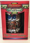 2003 Budweiser Clydesdales Old Towne Holiday Stein New Collectable