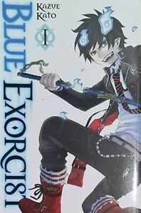 Blue-Exorcist-1-by-Kazue-Kato-Paperback-Book-New