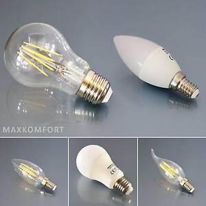 led leuchtmittel set e14 e27 gl hbirne birne filament. Black Bedroom Furniture Sets. Home Design Ideas
