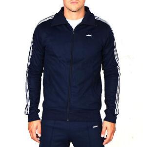 Adidas-Original-Beckenbauer-Men-s-Track-Top-In-Navy-AB7766-Size-S