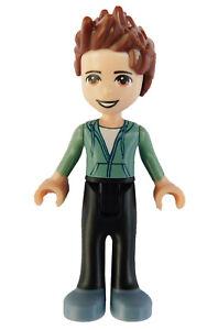 Lego-Friends-Ethan-schwarze-Hose-Minifigur-frnd240-Neu-Mann-Legofigur-Figur