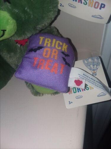 "NWT Build A Bear Halloween Wrist Plush Accessory 2/"" Trick or Treat Bats"