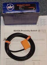 ATC Efector 8043AL02FL3DAXX Proximity Switch w/Cable