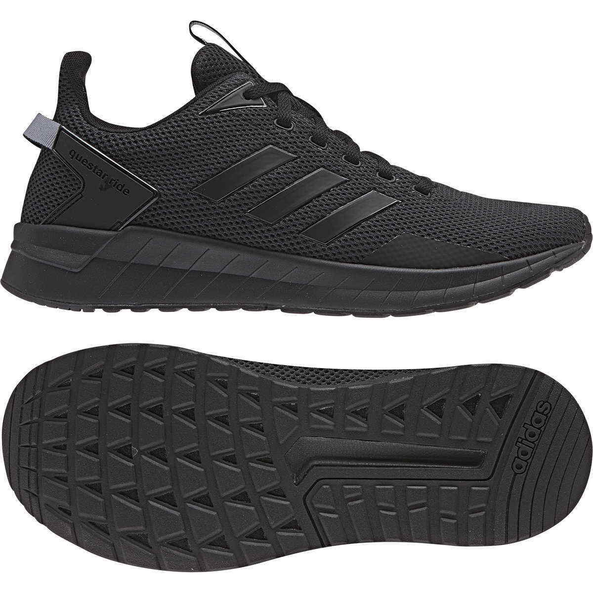 Adidas Sneaker Questar Ride black carbon schwarz B44806 Sport Turnschuhe