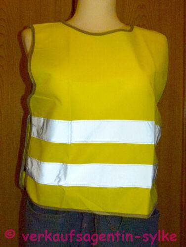 chaleco seguridad infantil Reflectante sicherheitsüberwurf para niños 3 tamaños