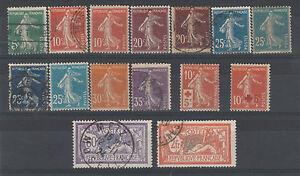 FRANCOBOLLI-1907-FRANCIA-SEMINATRICE-LOTTO-NUOVI-E-USATI-Z-4095