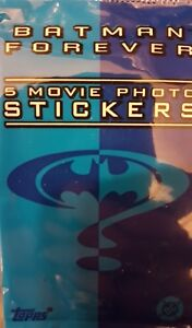 BATMAN FOREVER MOVIE PHOTO STICKERS X30 LOOSE STICKERS