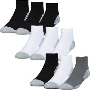 Under-Armour-Golf-2019-HeatGear-Tech-Low-Cut-Golf-Sports-Ankle-Socks-3-Pack