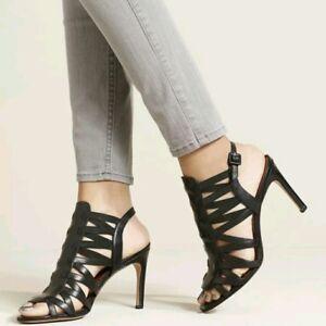 b406935d387 Via Spiga Tafari Open Toe Sandals High Heel Women s Size 9M 40 euro ...