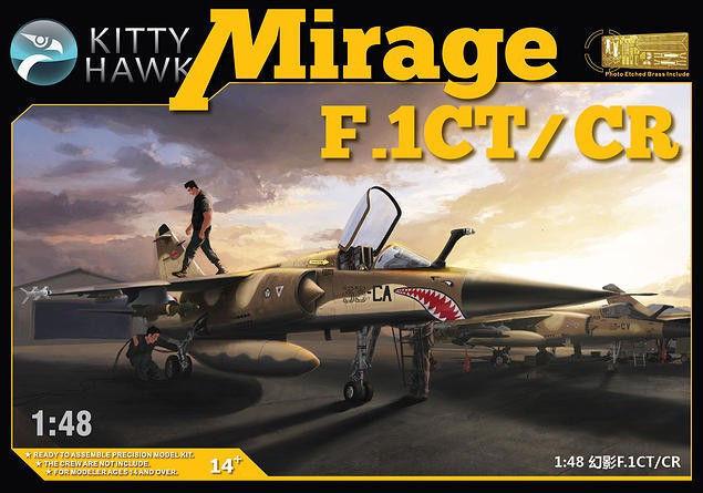 Kitty Hawk 1 48 Dassault Mirage F.1CT CR