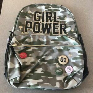 The Children/'s Place Girls Contrast Leopard Print Backpack And Lunch Tote NWT
