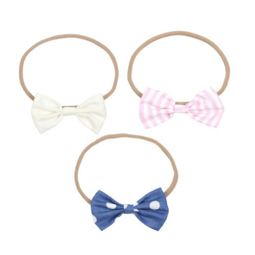 Baby Girl Cute Bow Headband Newborn Headwear Headdress