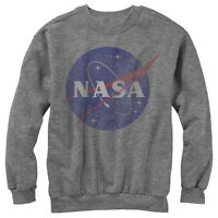 Nasa Logo Mens Graphic Sweatshirt