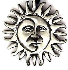 SUN MOON ECLIPSE NEW AGE PENDANT MENS BOYS WOMENS GIRLS NECKLACE CHAIN PC0172