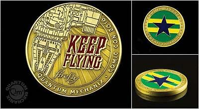 Serenity SDCC 2016 Exclusive Licensed FIREFLY Online Game CHALLENGE COIN Giftbox