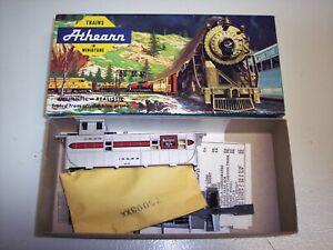 Burlington-CB-amp-Q-Caboose-Athearn-Blue-box-Kit-1254-New-in-box-HO-scale