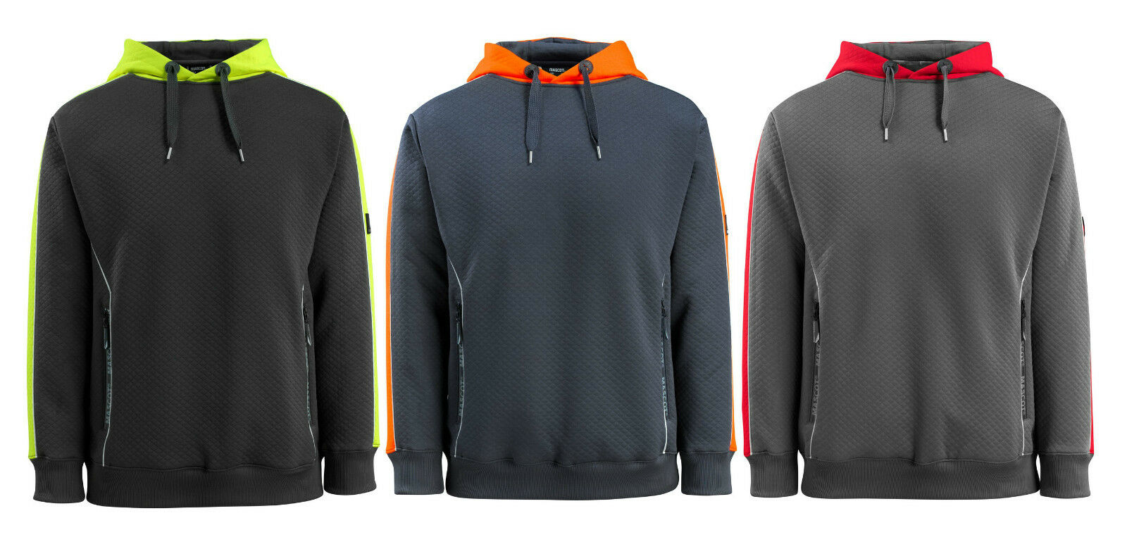 MASCOT® HARDWEAR Motril Kapuzen-Sweatshirt mit Reflex-Effekten Sweater S - 4XL