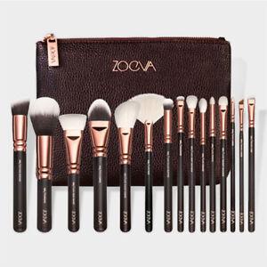 Makeup-Buersten-Rosegold-Kosmetik-Pinsels-Unicorn-Augen-Kit-Gesicht-Set-Tasche