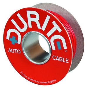 Durite-4-953-50-Cable-Flat-Twin-Thin-Wall-28-0-30mm-Red-Black-PVC-500M