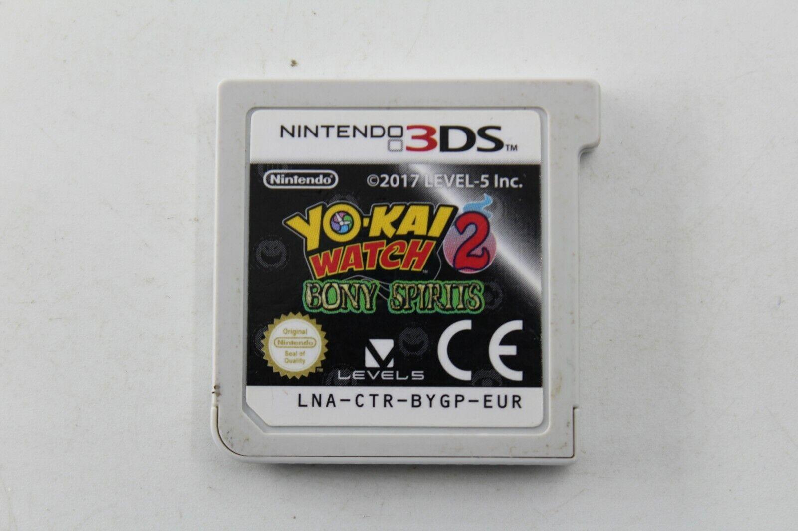 NINTENDO 3DS N3DS YO KAI WATCH 2 BONY SPIRITS CARTUCHO PAL ESPAÑA