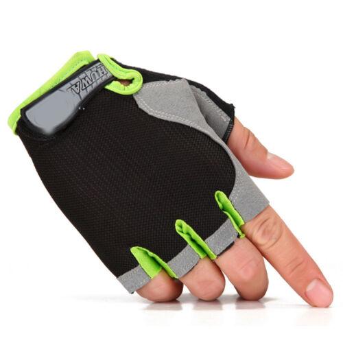 Women Men Sports Half Finger Gloves Workout Gym Training Yoga Weight Lifting