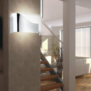 Fabulous Glas Wand Strahler Lampe Treppen Haus Flur Beleuchtung Leuchte MW18