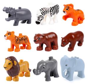 Animal Model Figures Big Building Blocks Compatible LEGOs Duplos Bricks