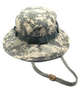 73790a5006b Image is loading MILITARY-camouflage-sun-bucket-hat-type-ii-M-L-