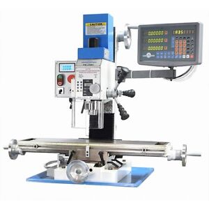 Pm 25 Mv Vertical Bench Top Milling Machine W 3 Axis Dro