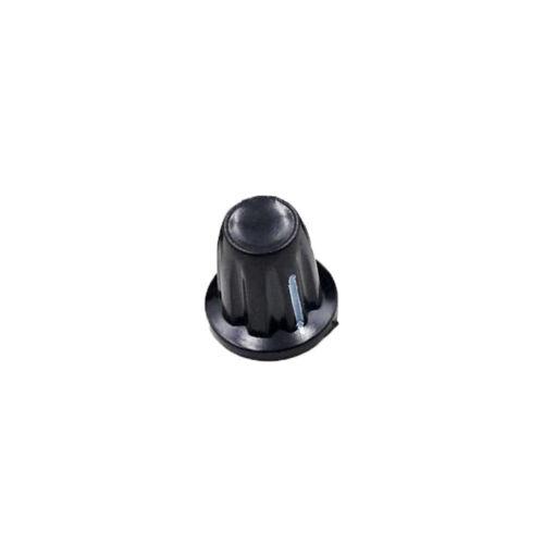 1Pcs 4mm Shaft Dia Brass Tone Core Potentiometer Control Rotary Knob