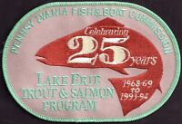 Pa Pennsylvania Fish Commission Lake Erie Trout & Salmon Program 1993-94 Patch