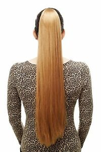 POSTICHE-TRESSE-tres-long-lisse-epingle-a-cheveux-papillon-70-cm-Blond