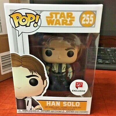 * Esclusivo Edizione Limitata * Funko Pop! Star Wars: Han Solo Vestito Di Volo #255-mostra Il Titolo Originale Rinfresco