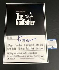 FRANCIS-FORD-COPPOLA-SIGNED-THE-GODFATHER-12X18-POSTER-AUTOGRAPH-BECKETT-COA-2