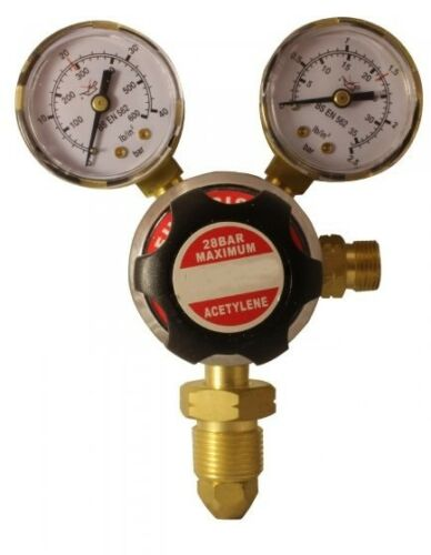Acetylene Regulator Single Stage 2 Gauge 1.5 bar 22.5 psi