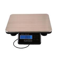 660lbs X 01 Lb Digital Floor Bench Scale Postal Platform Shipping 300kg Weigh