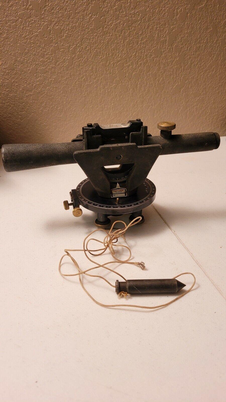 Vintage Sears Roebuck Co. CRAFTSMAN 4C 4377 Utility Level Transit Surveyor Tool