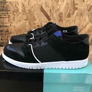 Nike-SB-Zoom-Dunk-Low-Pro-QS-Black-Game-Royal-Size-11-5-New