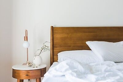 PAIR OF LARGE BAMBOO 600 T//C PILLOW CASES FOR PURE LUXURY BED PILLOWS bed linen.