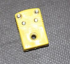 NEW  Omega Mini K Type Thermocouple Probe Female Connector Plug AL CH, Qty 1