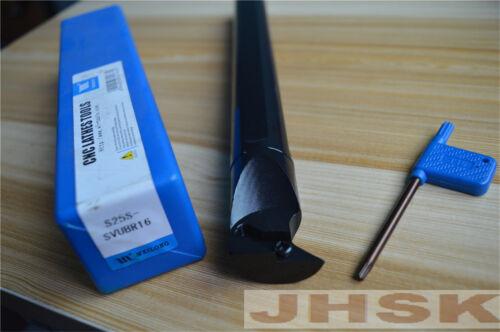 S25S-SVUBR16 25×250mm Lathe Turning Tool Boring Bar Holder For VBMT1604 VBGW1604