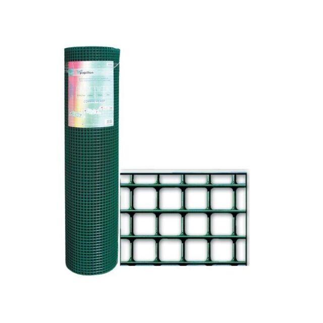 Rete Recinzione Plasticata SGS Corral Plast 12,7X12,7 mm H: 60 cm Rotolo 25 mt