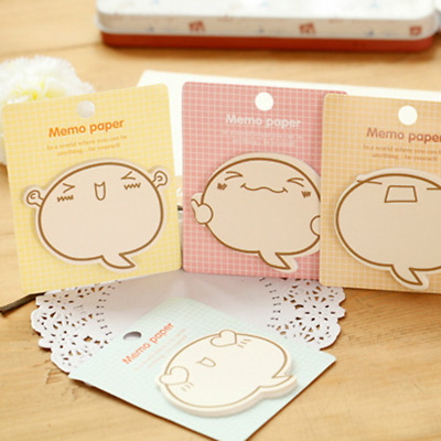 Student Stationery Cactus Stickers Bookmark Memo Notepads Adhesive Sticky Notes